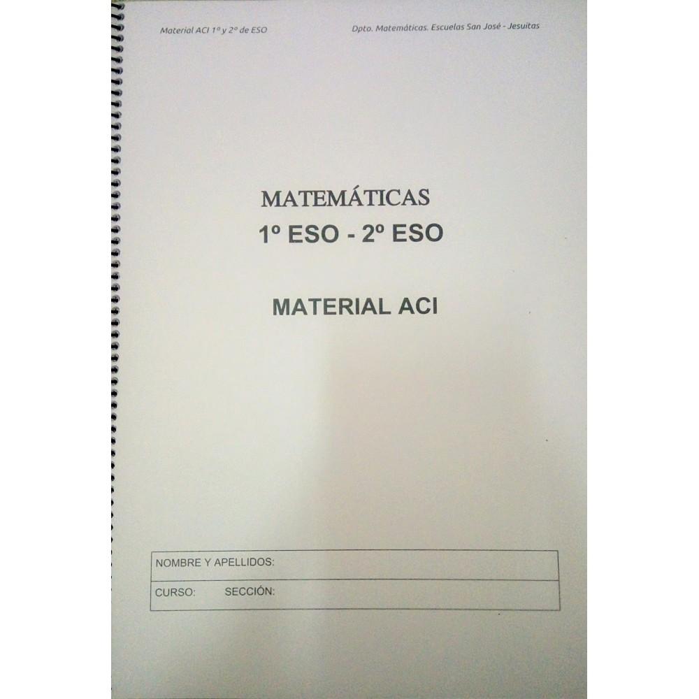 CUADERNOS MATEMÁTICAS ACI 1 Y 2 ESO