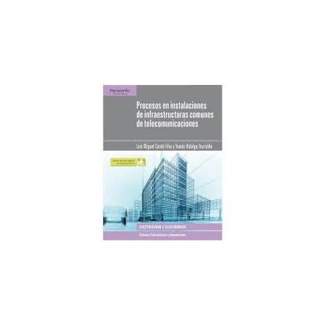 Procesos en instalaciones de infraestructuras de telecomunicaciones