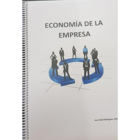 Dossier economía 2º Bachiller. Curso 2018/19